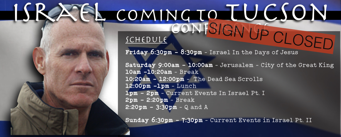Israel Coming To Tucson