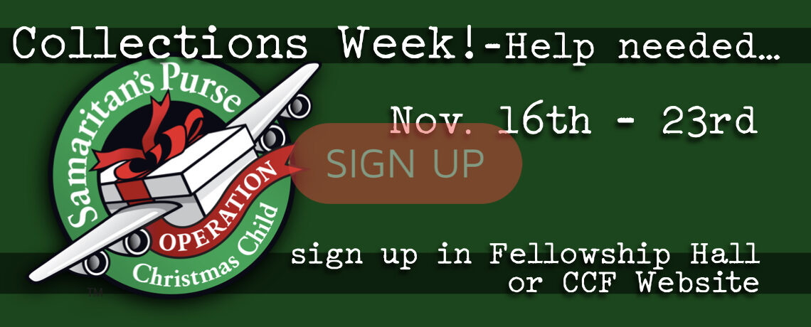OCC Collections Week