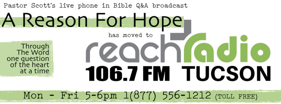 A Reason For Hope Radio